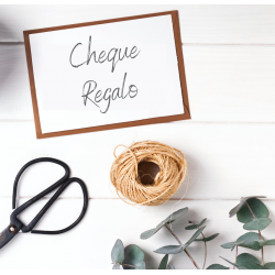 Cheque regalo 60 €